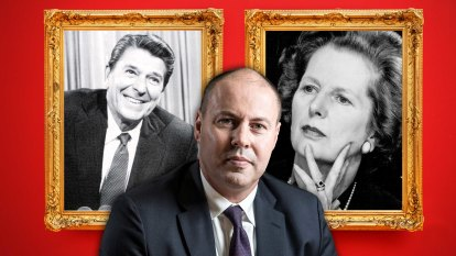Why is the Treasurer taking inspiration from Margaret Thatcher and Ronald Reagan?
