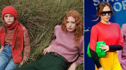 Victoria Beckham collaborates with an Australian fashion icon