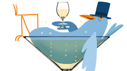 Champagne glasses have changed over time, but which is best?