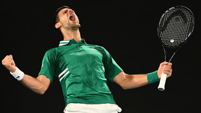 World No.1 Novak Djokovic ties Federer's record for weeks at the top