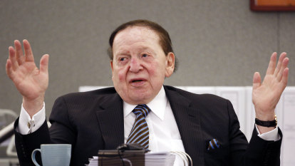 Sheldon Adelson, billionaire casino magnate and Trump donor, dies