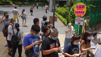 Hong Kong votes in democratic primaries despite security law