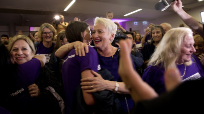'I won't let you down', says triumphant Kerryn Phelps