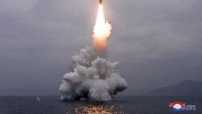 North Korea launches ballistic missile into ocean
