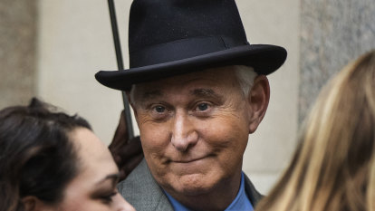 Four lawyers quit Roger Stone case in protest over meddling