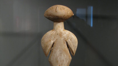 Turkey sues Christie's for $19m ancient marble idol, claiming it was looted