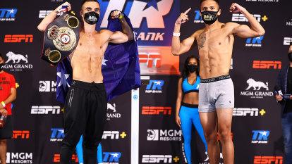 WBA Super-Flyweight World Title fight LIVE: Andrew Moloney vs Joshua Franco in Las Vegas