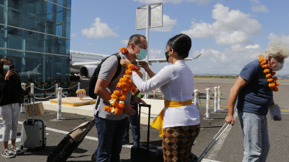 Foreign tourists to be locked out of Bali until 2021