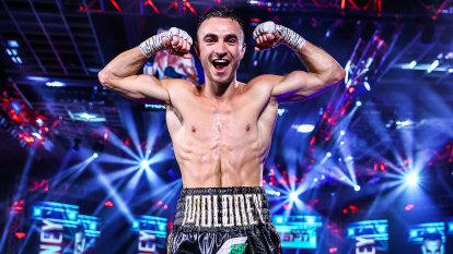 Jason Moloney has no fear as he prepares to take on a boxing 'monster'