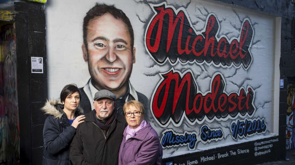 Family hopes mural will spark more info about missing man