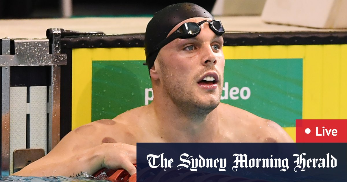 2021 Australian Swimming Trials as it happened: Chalmers blitzes 100m freestyle final – The Sydney Morning Herald