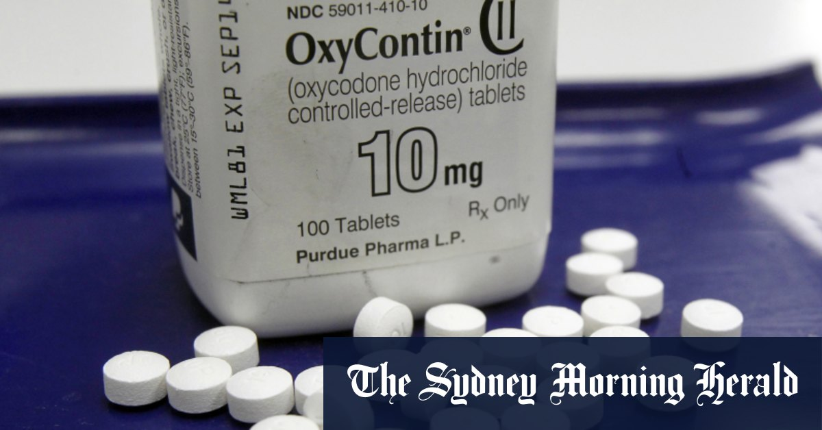 Purdue Pharma pleads guilty to criminal charges in $US8 billion settlement – Sydney Morning Herald