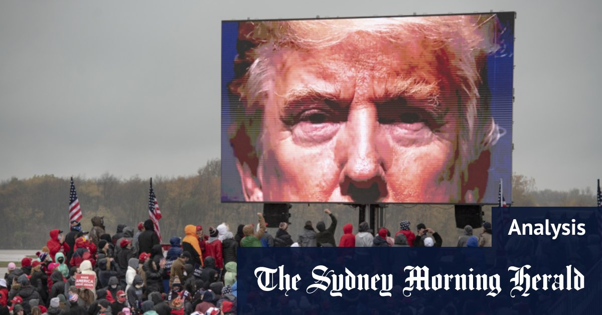 Trump's narrow – but not impossible – path to victory – Sydney Morning Herald