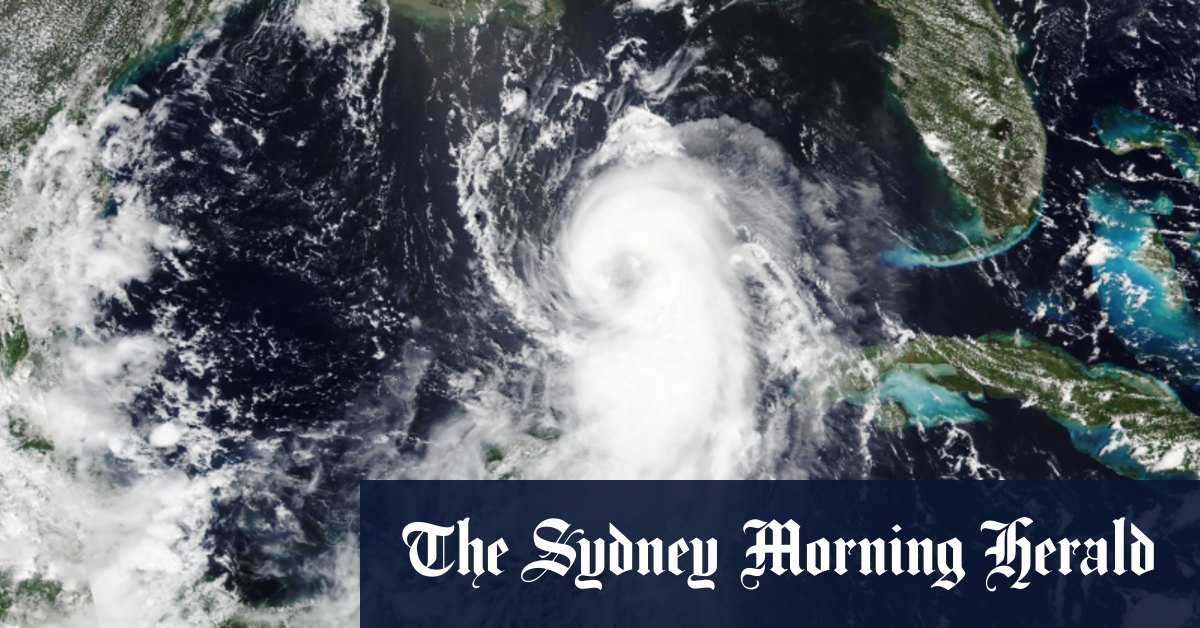 Hurricane Laura to cause 'unsurvivable storm surge' on US Gulf Coast – Sydney Morning Herald