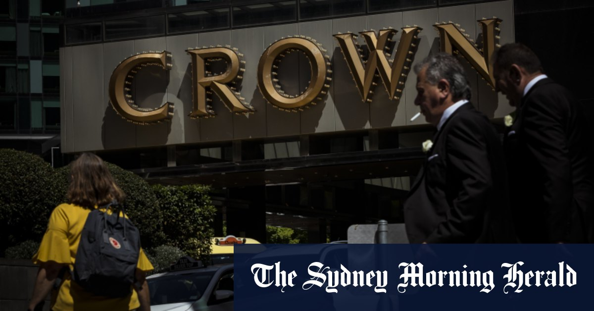 Crown Resorts receives $8b takeover bid from private equity giant Blackstone – Sydney Morning Herald
