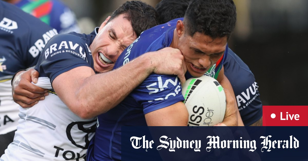 NRL 2021 round 12 LIVE updates: Cowboys v Warriors and Tigers v Dragons – The Sydney Morning Herald
