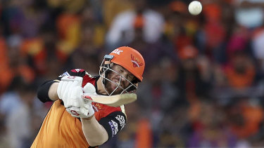 David Warner keeps piling on the runs in the Indian Premier League.