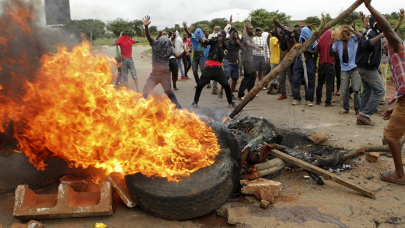 'This is worse than Mugabe': Zimbabwe descends into chaos – again