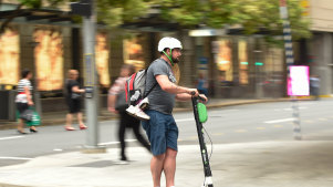 Hacked Lime scooters play offensive voice messages