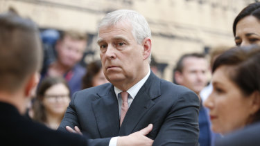 His Royal Highness Prince Andrew.