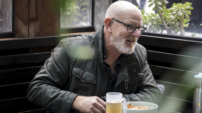 Here it's obscurity or you're Karl Stefanovic: lunch with Peter Berner