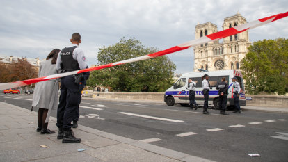 Paris knife attack suspect had terrorist motive: investigator