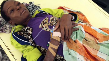 Mozambique says cholera cases rising in cyclone-hit city