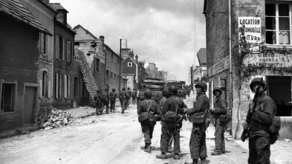 From the Archives: The liberation of Cherbourg, France