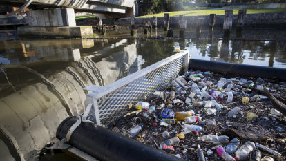 Tonnes of litter fished from Yarra every year as native species suffer