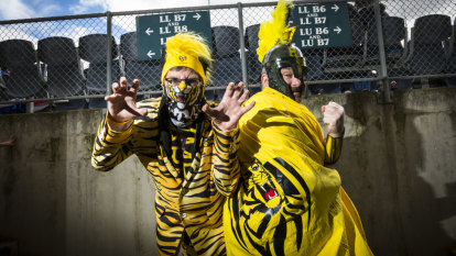 Look out! Tiger Army marshals for tilt on a premiership