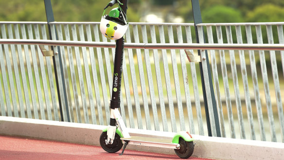 Lime's scooters squeeze out more than half a million rides in Brisbane