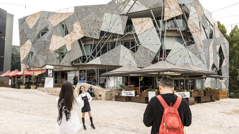 The Apple store is designed as an icon for Apple, not Melbourne - Sydney Morning Herald image