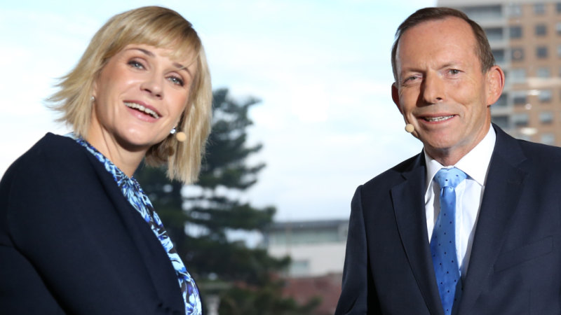 'Too many experts': Tony Abbott advocates backbencher power in debate with Zali Steggall