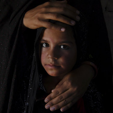 Six-year-old Farzana, whose father agreed to sell her into marriage.
