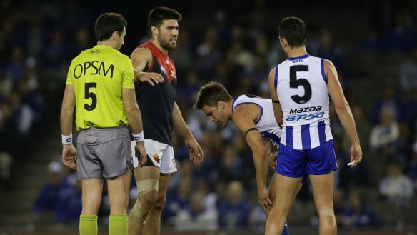 Brownlow Medal: Stats, whacks and umpires getting stuck into each other