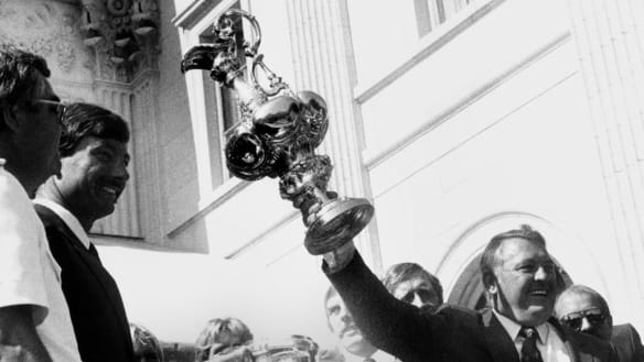 35 years on: The 1983 America's Cup race turns ugly