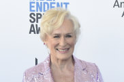 Glenn Close shows you can look great in metallics at any age.