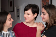 Cecilia Anthony, pictured with two of her three daughters, had a later gestation abortion in 1997.