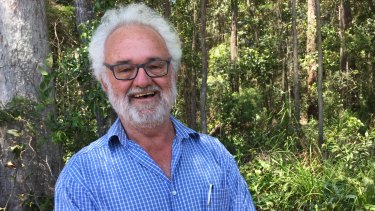 Michael Gloster's 20-year dream to turn a pine plantation into a park to protect koalas is being realised.