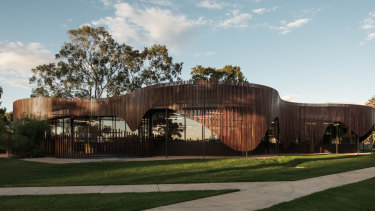 Cobram's library and learning centre was designed by Cohen Leigh Architects.