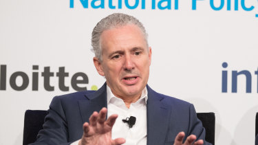 Telstra CEO Andrew Penn chaired the industry advisory panel.