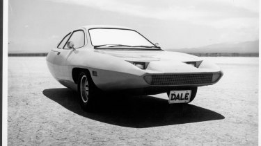The three-wheeled car that was never built.