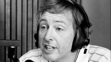 Jimmy Hannan on 2GB in 1979.