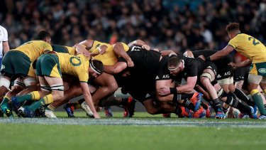 Australia and New Zealand are at loggerheads... and they haven't even played each other yet.