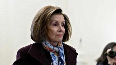 Nancy Pelosi has presided over the impeachment process with discipline and at times an iron first.