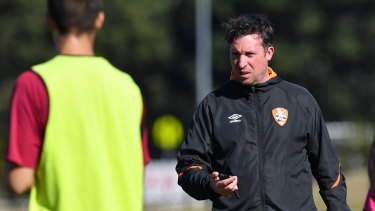 Robbie Fowler will coach the Roar for the first time in a competitive match on Wednesday night against Sydney FC.