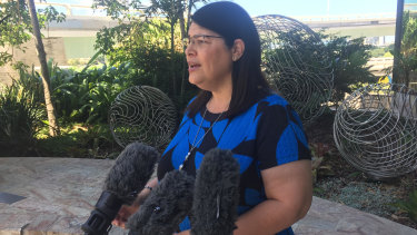 Education Minister Grace Grace discusses Queensland  teacher numbers.