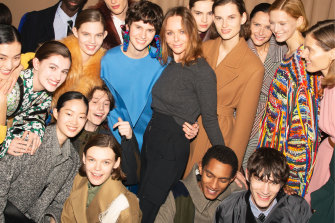 Sustainable (and youth) trailblazer ... Stella McCartney and models.