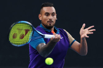 Nick Kyrgios is among the players whose Australian Open preparations have been thrown into doubt by a fresh COVID-19 case in Melbourne.