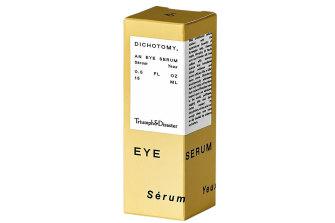 "Triumph & Disaster ""Dichotomy"" eye serum."